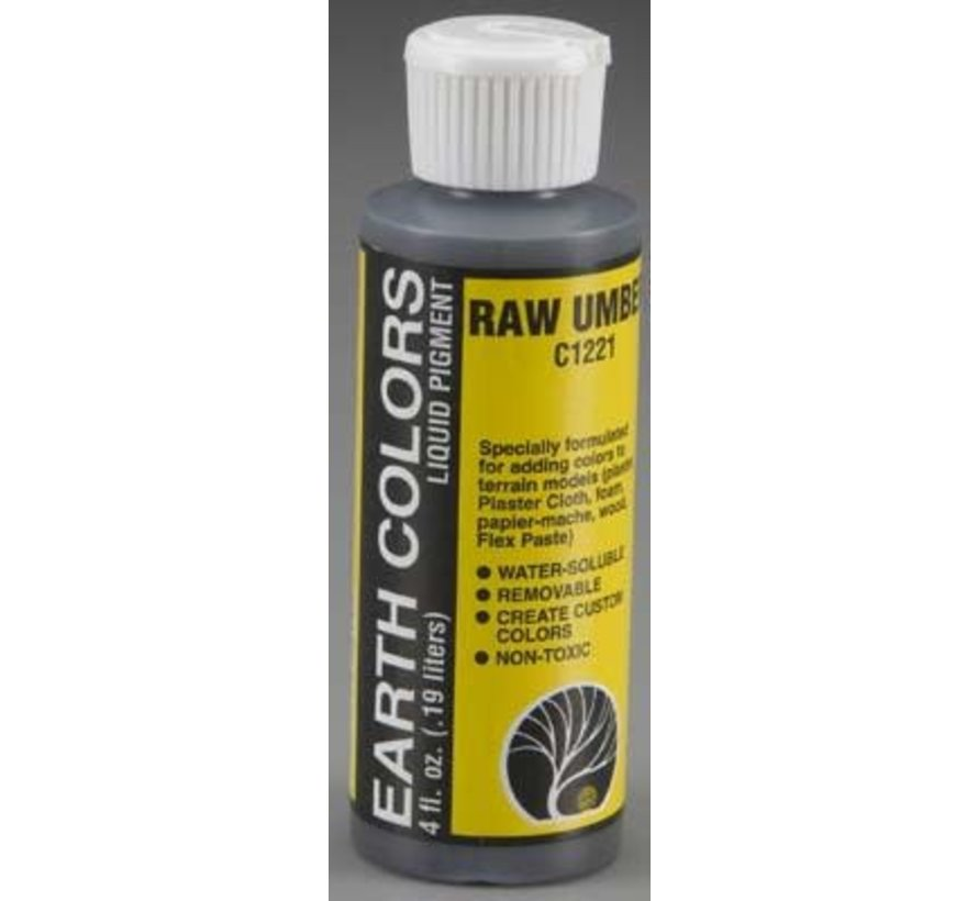 C1221 Earth Color Raw Umber 4 oz