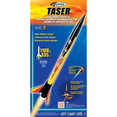 EST - Estes 1491 Taser Launch Set E2X Easy-to-Assemble
