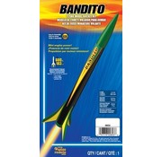 Estes -EST 0803 Bandito Model Rocket Kit E2X Easy-to-Assemble