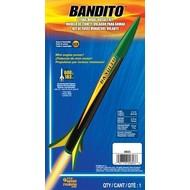 EST - Estes 0803 Bandito Model Rocket Kit E2X Easy-to-Assemble