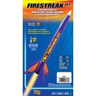 EST - Estes 000806 Firestreak SST Model Racket Kit E2X Easy-to-Assemble