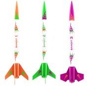 Estes Rockets (EST) 2435 3 Bandits Mini Kit E2X Easy-to-Assemble