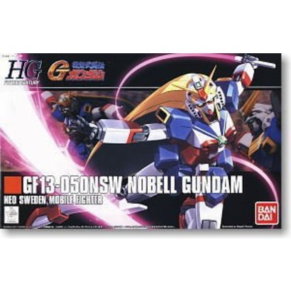 """BANDAI MODEL KITS 5055720 #119 Nobel Gundam """"G Gundam"""", Bandai 1/144 HGFC"""