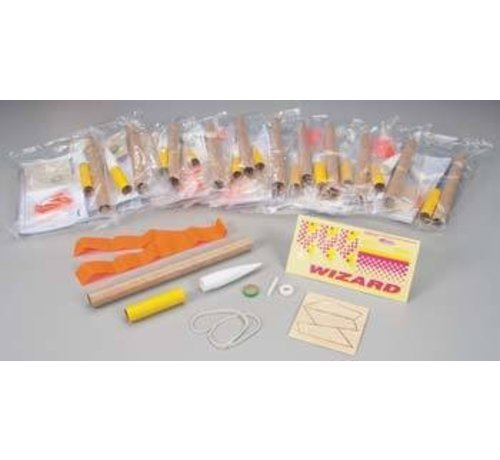 Estes -EST 1754 Wizard Bulk Pack Kits Skill Level 1 (12)