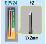 TSM - Trumpeter Models Micro Chisel: 2mm x 2mm Square Tip