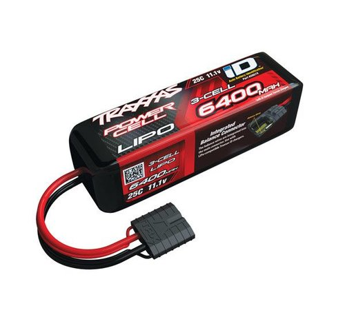 Traxxas (TRA) 2857X 6400mAh 11.1v 3-Cell 25C LiPo Battery