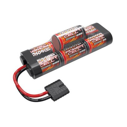 TRA - Traxxas 2926X Power Cell, 3000mAh (NiMH, 7-C hump, 8.4V) Battery Pack