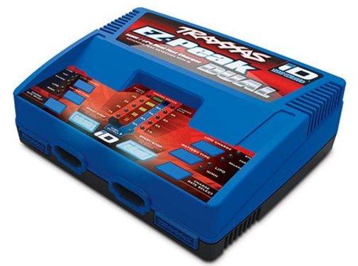 Traxxas (TRA) EZ-Peak Plus 100W NiMH and LiPo Dual Charger AC