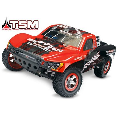 TRA - Traxxas Slash VXL: 1/10 Scale 2WD Short Course Racing Truck with TQi Traxxas Link Enabled 2.4GHz Radio System & Traxxas Stability Management (TSM)
