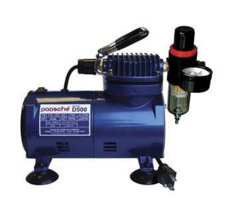 D500SR Compressor w/ Regulator & Auto Shutoff