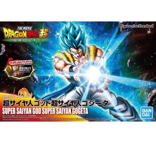 BANDAI MODEL KITS 5055580 FIGURE-RISE STANDARD SUPER SAIYAN GOD SUPER SAIYAN GOGETA
