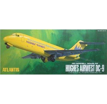 ATLANTIS MODEL (AMC) DC-9 Hughes Airwest Airliner