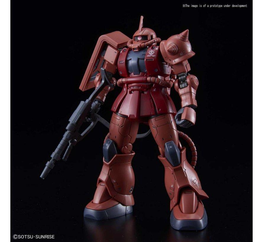 "5057656 MS-06S Zaku II Char Red Comet Ver. ""Gundam The Origin"", Bandai HG The Origin 1/144"