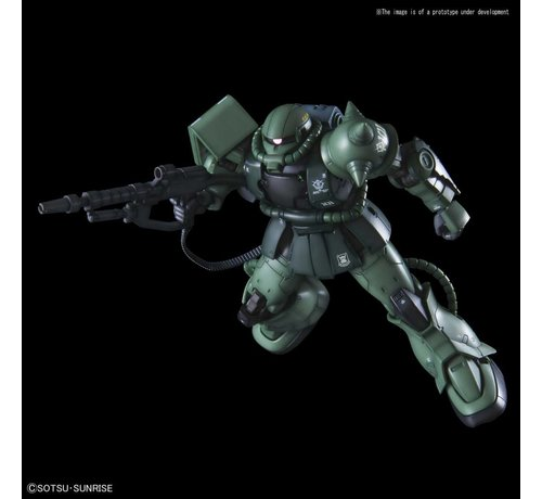 "BANDAI MODEL KITS 5057576 Zaku II Type C-6/R6 ""Gundam The Origin"", Bandai HG The Origin 1/144"