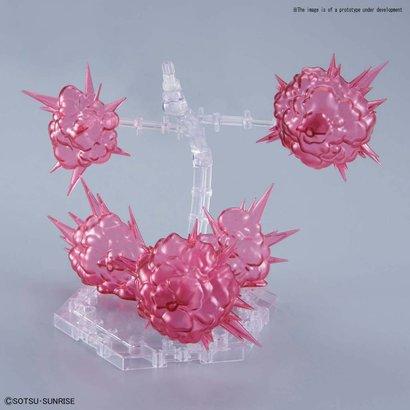 BANDAI MODEL KITS 5057608 Burst Effect (Space Pink), Bandai Figure-rise Effect