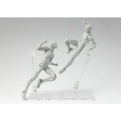 Tamashii Nations 56787 Tamashii Stage Act. 4 for Humanoid, Stand Support (Clear), Bandai