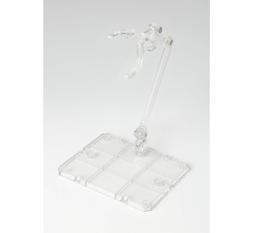 56787 Tamashii Stage Act. 4 for Humanoid, Stand Support (Clear), Bandai