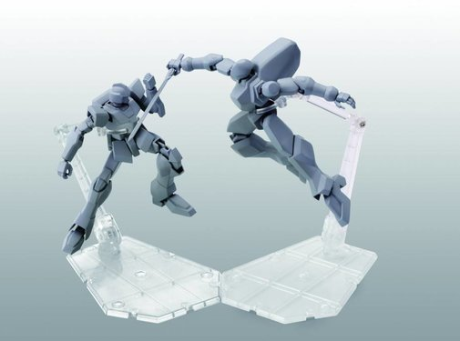 Tamashii Nations Stage Act. 5 for Mechanics, Stand Support (Clear)
