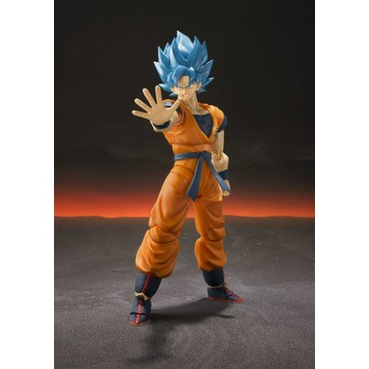 "Tamashii Nations BAS55700 Super Saiyan God Super Saiyan Goku ""Dragon Ball Super"", S.H. Figuarts"