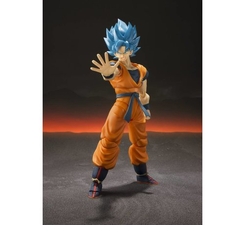 "Tamashii Nations BAS55700 Super Saiyan God Super Saiyan Goku ""Dragon Ball Super"", S.H. Figuarts"