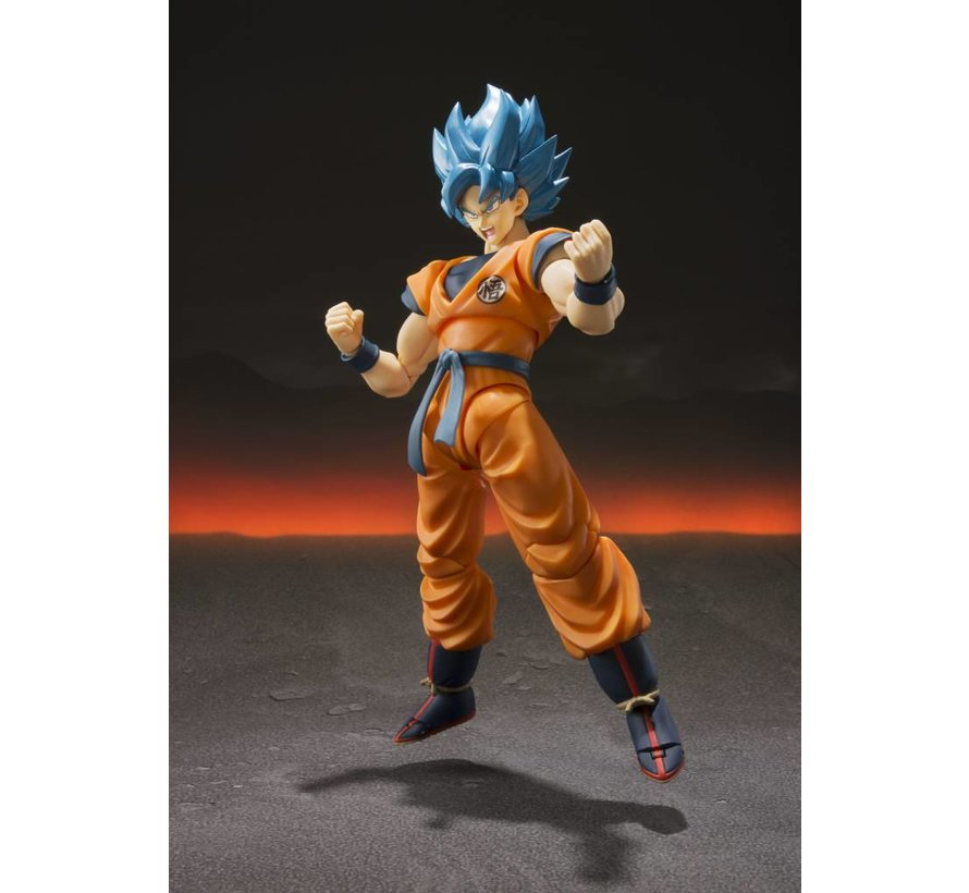 "BAS55700 Super Saiyan God Super Saiyan Goku ""Dragon Ball Super"", S.H. Figuarts"