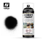 VALLEJO ACRYLIC (VLJ) Black Primer -  Spray