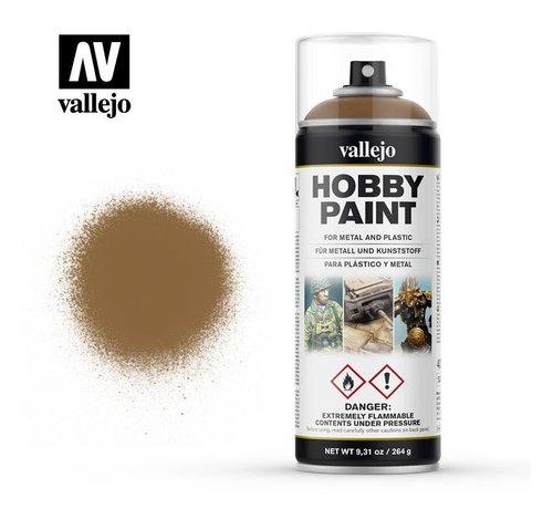 VALLEJO ACRYLIC (VLJ) 28014  Leather Brown - 400 ML Spray