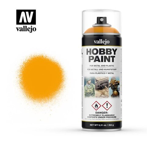VLJ-VALLEJO ACRYLIC PAINTS 28018  Sun Yellow - 400 ML Spray