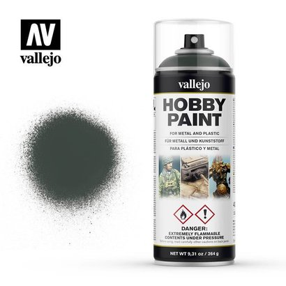 VLJ-VALLEJO ACRYLIC PAINTS 28026  Dark Green - 400 ML Spray