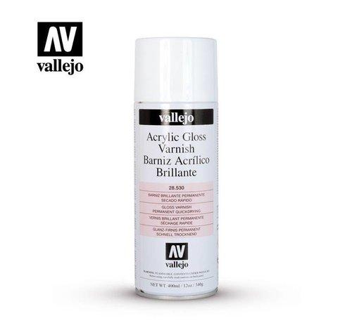 VALLEJO ACRYLIC (VLJ) 28530  Vallejo Gloss Varnish - 400 ML Spray Can