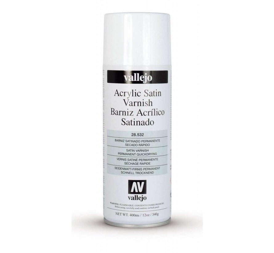 28532  Satin Varnish - 400 ML Spray