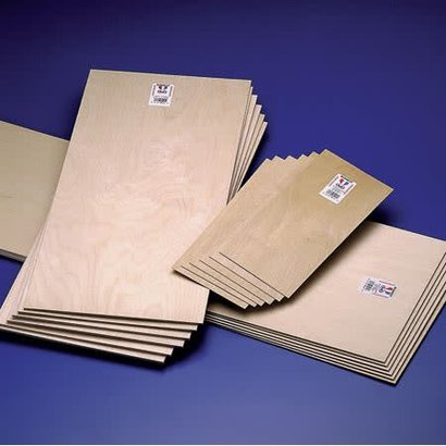 MID- Midwest 472- 5211 Plywood 1/16x6x2 (1.5mm Thickness) EACH