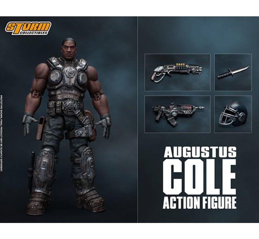 """87096 Augustus Cole """"Gears of War"""", Storm Collectibles 1:12 Action Figure"""