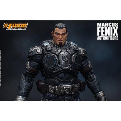 """Storm Collectibles 87095 Marcus Fenix """"Gears of War"""", Storm Collectibles 1:12 Action Figure"""