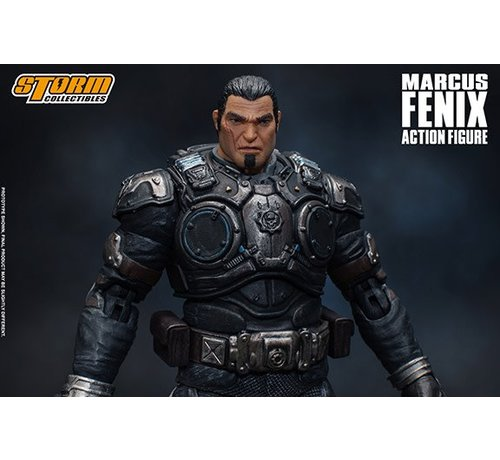 "Storm Collectibles 87095 Marcus Fenix ""Gears of War"", Storm Collectibles 1:12 Action Figure"