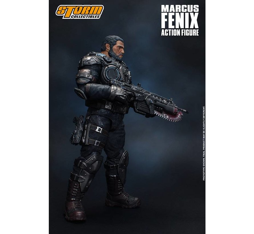 "87095 Marcus Fenix ""Gears of War"", Storm Collectibles 1:12 Action Figure"