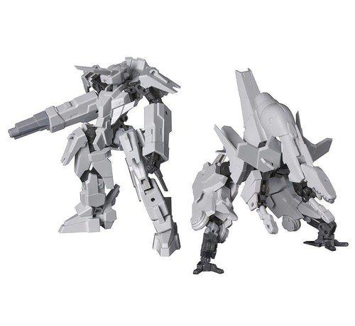 Kotobukiya - KBY FA085 FRAME ARMS KOBOLD+STRAUSS ARMOR SET:RE PLASTIC MODEL KIT