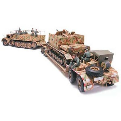 TAM - Tamiya 865- 35246 FAMO and Tank Transporter 1/35