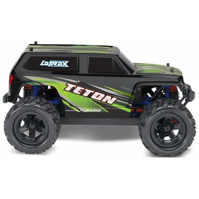 TRA - Traxxas 76054-5_GREEN LaTrax Teton: 1/18 Scale 4WD Electric Monster Truck