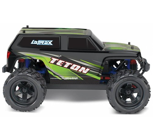 Traxxas (TRA) 76054-5_GREEN LaTrax Teton: 1/18 Scale 4WD Electric Monster Truck