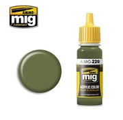 AMMO by Mig Jimenez (AMM) FS 34151 ZINC CHROMATE GREEN (INTERIOR GREEN)