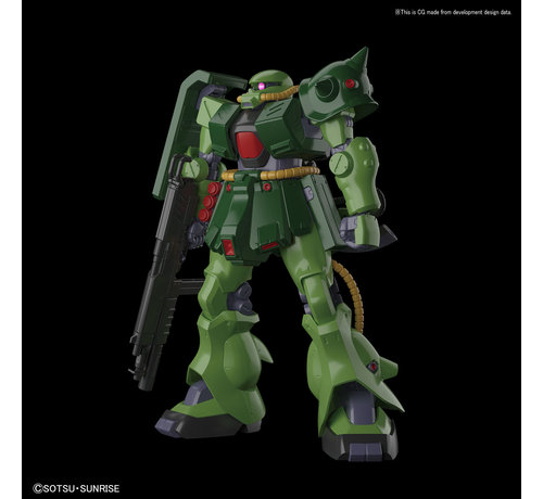 "BANDAI MODEL KITS 5057791 #13 Zaku II FZ ""Gundam 0080"", Bandai RE/100"