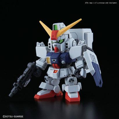 """BANDAI MODEL KITS 5057614 #11 Ground Gundam """"Gundam 08th MS Team"""", Bandai SDCS"""