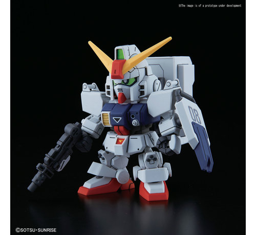 BANDAI MODEL KITS 5057614 #11 Cross Silhouette Gundam Ground Type  SDCS Plastic model kit