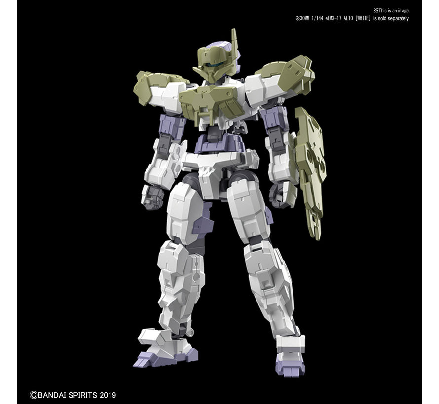 "5057781 #01 Close Quarters Battle Option Armor for Alto Dark Green (Each)""30 Minute Mission"", Bandai 30 MM Option Armor"