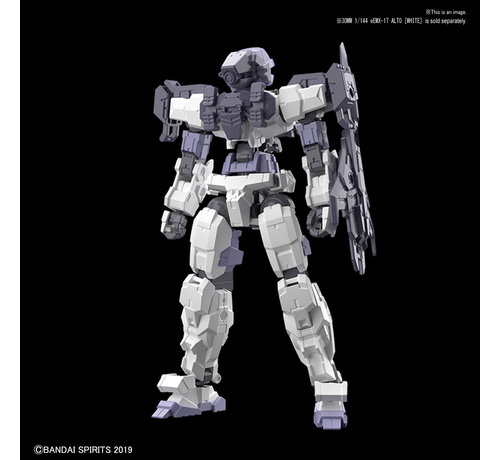 "BANDAI MODEL KITS 5057783 #03 Long Range Sniper Option Armor for Alto Dark Gray (EACH) ""30 Minute Mission"",Bandai 30 MM"