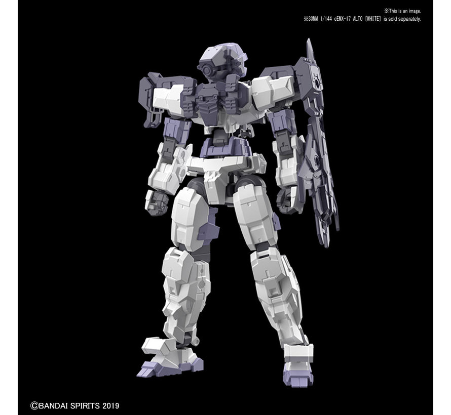 "5057783 #03 Long Range Sniper Option Armor for Alto Dark Gray (EACH) ""30 Minute Mission"",Bandai 30 MM"