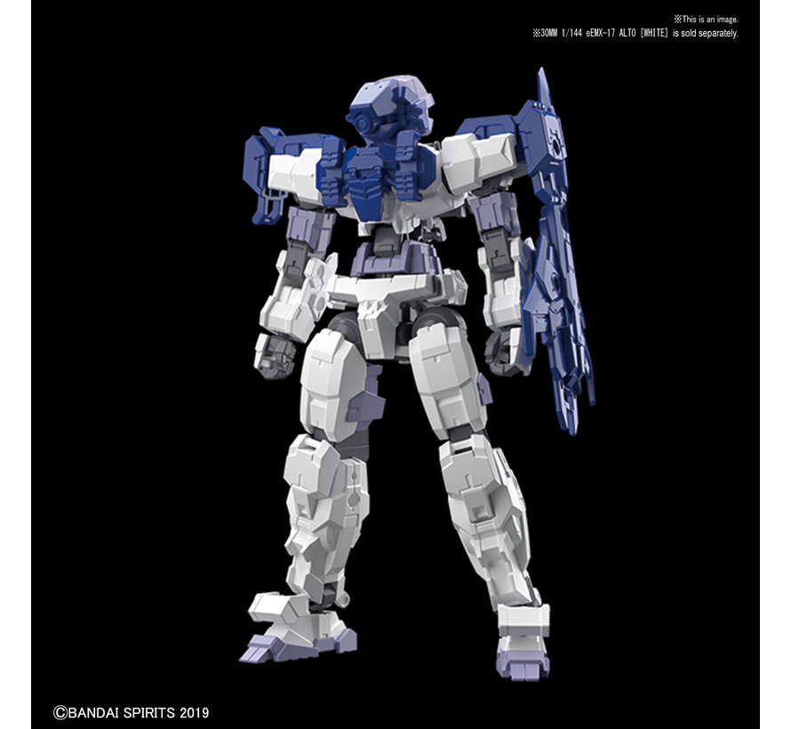 "5057784 #04 Long Range Sniper Option Armor for Alto Blue (EACH) ""30 Minute Mission"",Bandai 30 MM Option Armor"