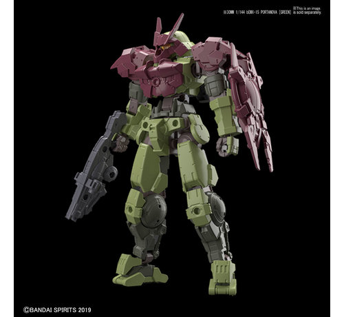 "BANDAI MODEL KITS 5057797 #05 Close Quarters Combat Option Armor for Portanova Dark Red (Each)  ""30 Minute Mission"",Bandai 30 MM Option Armor"