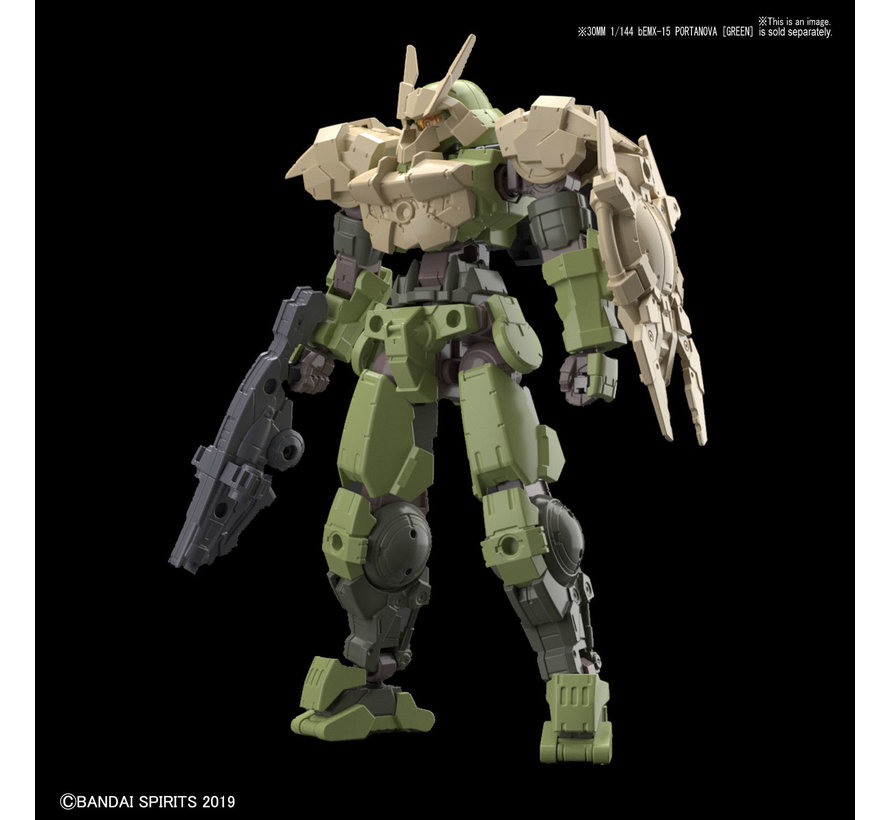 "5057811 #06 Close Quarters Combat Option Armor for Portanova Sand Yellow (Each)  ""30 Minute Mission"", Bandai 30 MM Option Armor"